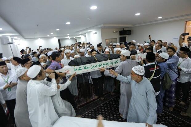 Dimakamkan di Al-Mala Jadi Keinginan Mbah Moen