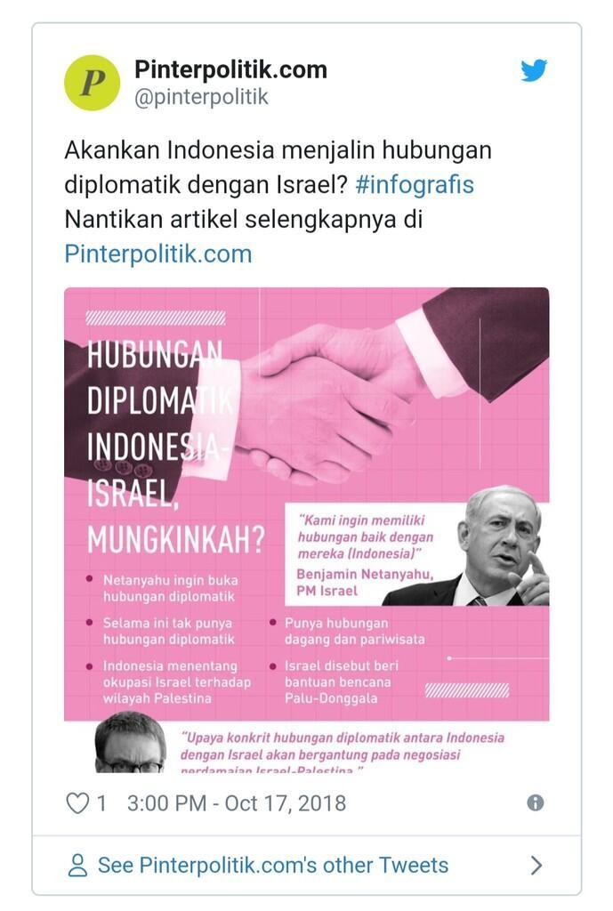 """Manuver KADIN, Israel """"Penyelamat"""" Indonesia?"""