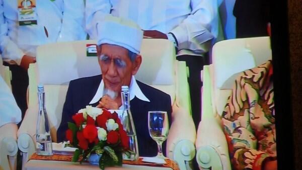 Mbah Moen dan Megawati Punya Kedakatan, Ini Kegiatan Rutin Keduanya