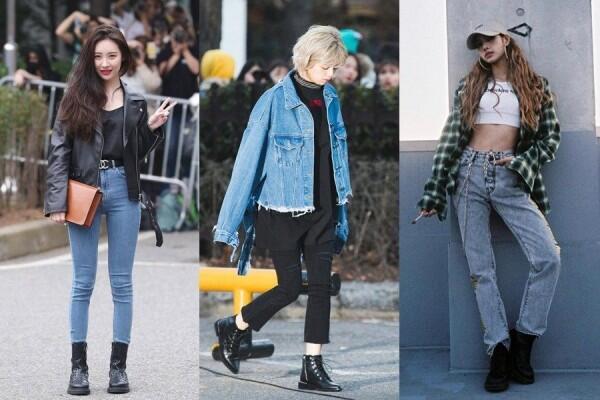 9 Inspirasi OOTD Boyish ala Idol Korea, Cocok buat Si Cewek Tomboy!
