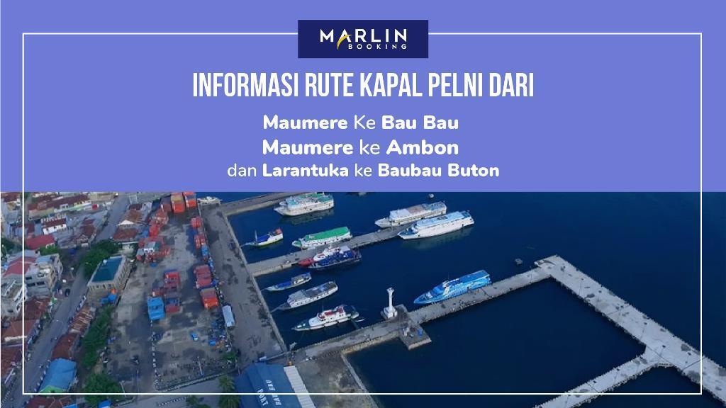 Rute Kapal Maumere, Bau Bau, Ambon, dan Larantuka