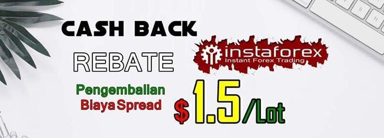 Register InstaForex Dapatkan CashBack Rebate 1.5 Pips InstaForex