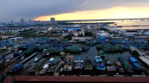 Sinking of Jakarta is an inevitable fact
