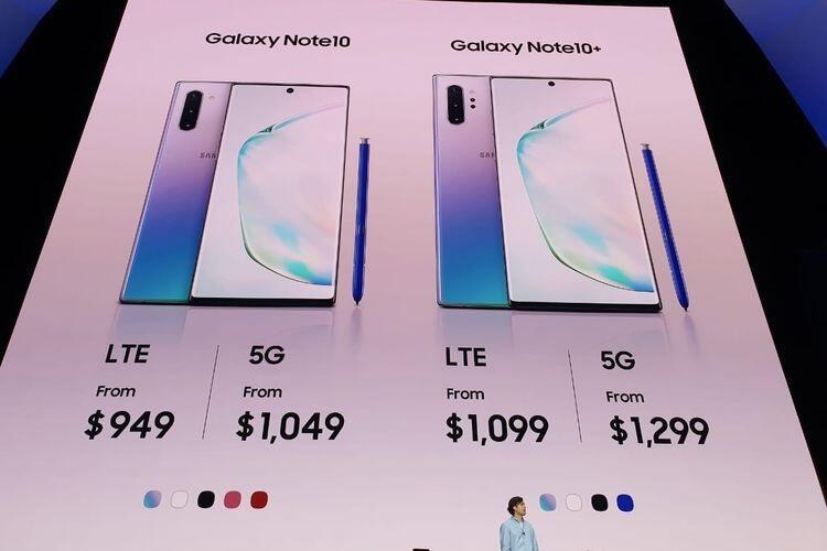 Samsung Resmi meluncurkan Galaxy Note 10 dan Galaxy Note 10+