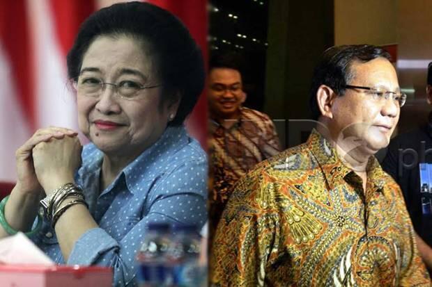 Di Kongres PDIP, Mega Ajak Prabowo Tempur Lagi di 2024
