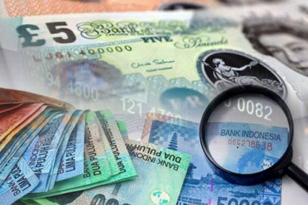 Rupiah Ditutup Balik Melawan Tren Pelemahan, Pounds Bangkit