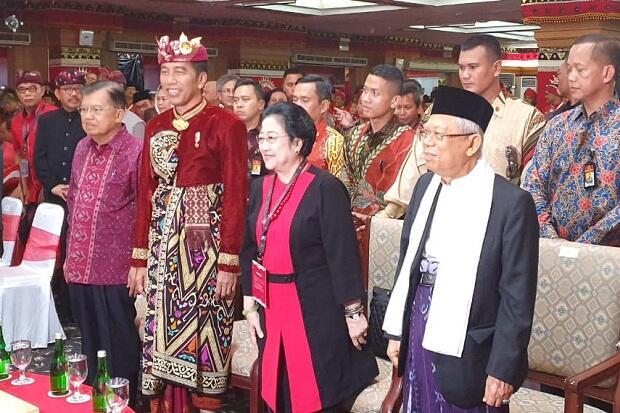 Aklamasi, Megawati Kembali Terpilih Jadi Ketum PDIP Periode 2019-2024