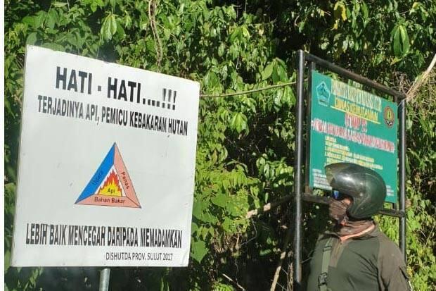 Waspadai Potensi Angin Kencang di Manado, Awas Kebakaran Hutan