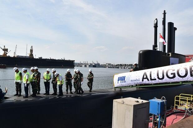 Kapal Selam Alugoro-405 Segera Perkuat Armada Tempur TNI AL