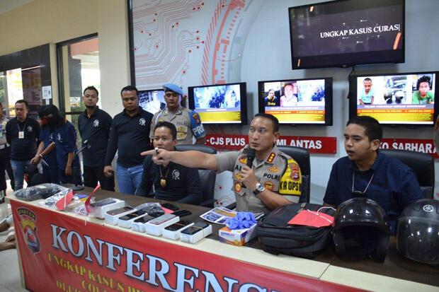Cerita Perburuan Tiga Perampok Toko Ponsel hingga Cianjur dan Lampung