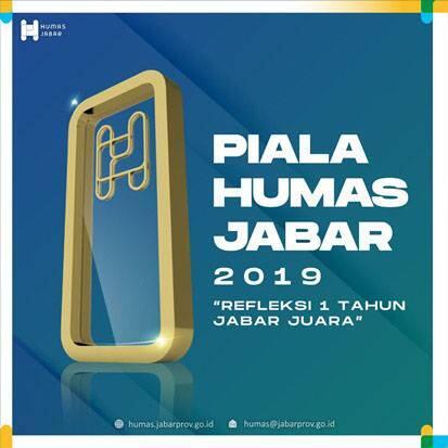 Piala Humas Jabar 2019 Beri Apresiasi Humas dan Protokol Daerah