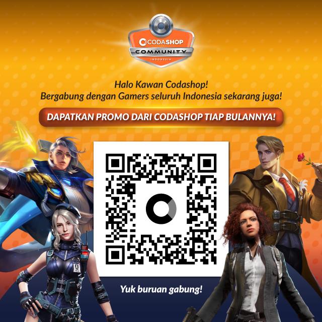 Giveaway Skin Uranus dari Codashop Community Indonesia Official