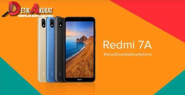 Xiaomi Boyong Redmi 7A ke Indonesia, Harganya Cuma 1 Jutaan