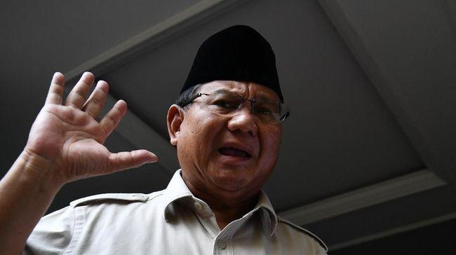 Hadiri Kongres PDIP Prabowo Ditemani Dua Elite Gerindra