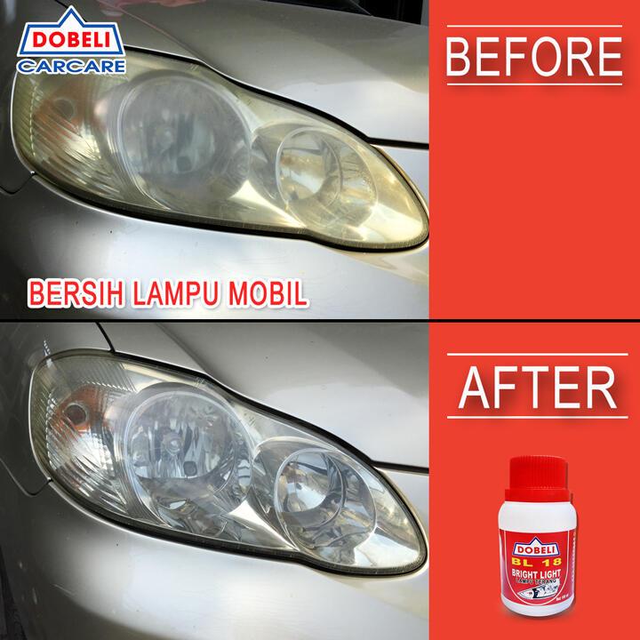 📣🚗 [Tips Mudah] Lampu mobil anda menguning / buram? 😱 Klik Klik