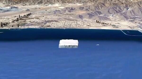Pengusaha Emirat Akan Seret Gunung es ke UEA, kemudian Dua Benua Lain!