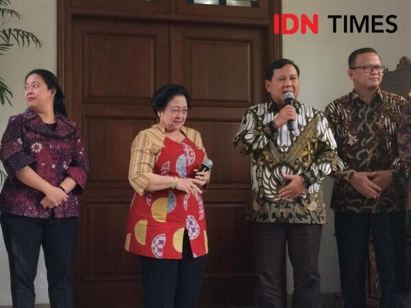 Prabowo Subianto Hadiri Kongres V PDIP di Bali
