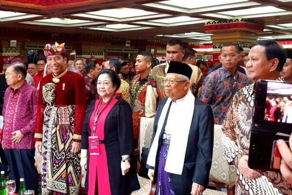 Jokowi Jawab Megawati: PDIP dapat Kursi Menteri Terbanyak