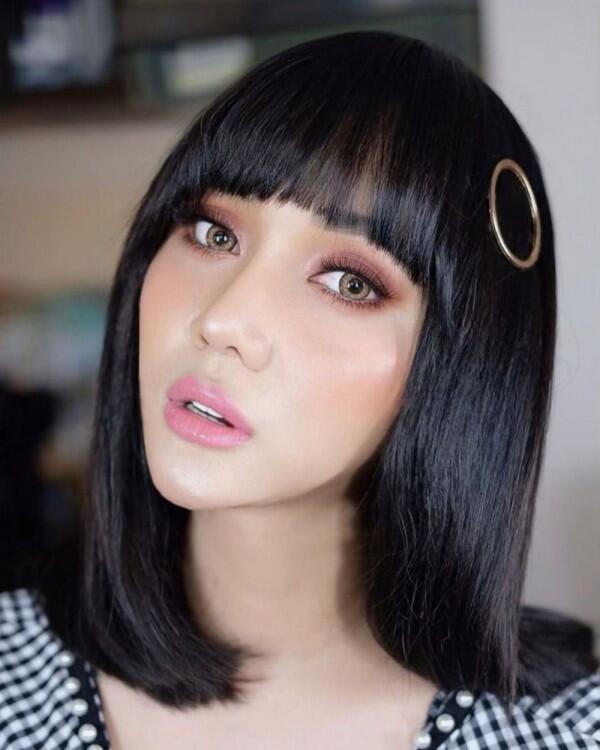 9 Potret Gaya Rambut Lucinta Luna yang Bakal Bikin Kamu Terpesona!