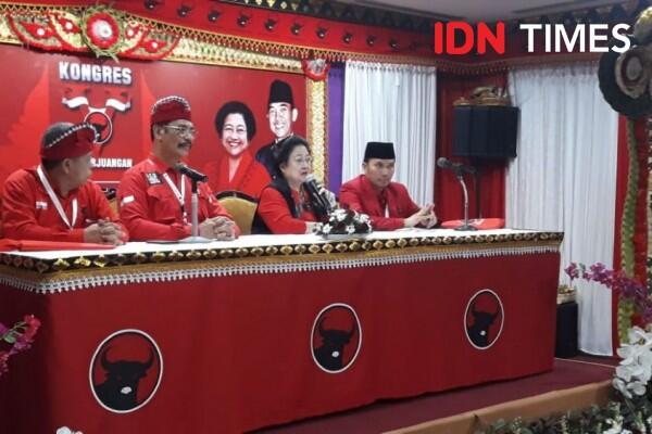 [BREAKING] Ini Komentar Megawati Usai Terpilih Kembali Jadi Ketum PDIP