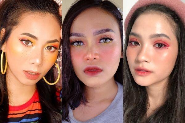 Unik dan Fresh, Intip 9 Inspirasi Riasan Mata ala Beauty Influencer!