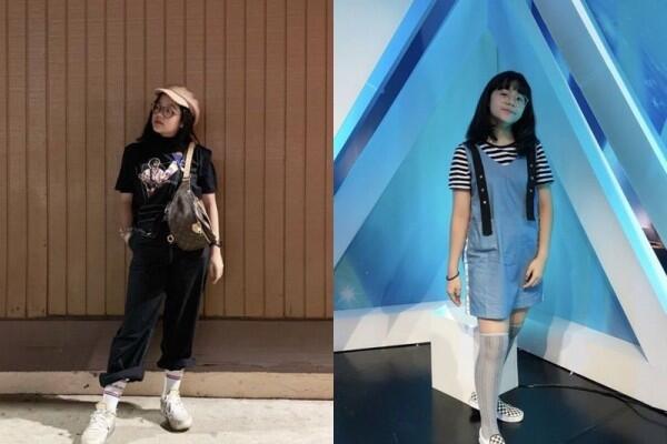 10 Ragam Style OOTD ala Cinta Kuya, Kece dan Trendi Banget!