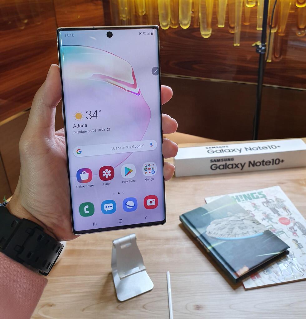 Menggenggam Galaxy Note10+ di Event Eksklusif Unpacked Jakarta