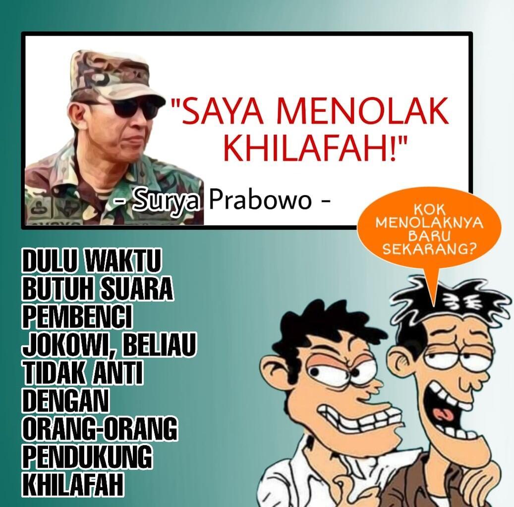 Suryo Prabowo Berpisah Jalan, Ia Tolak Rekomendasi Ijtima Ulama ke-IV