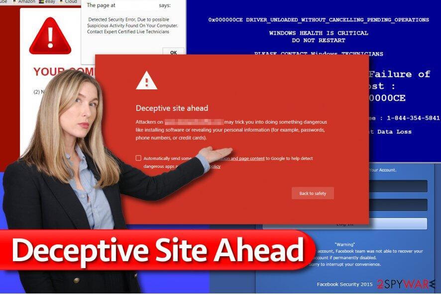 Cara Mengatasi Deceptive Site Ahead