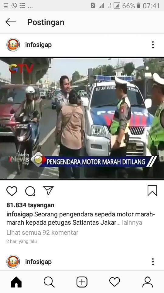 Viral Seorang Ibu Tampar Suami karena Marah-marah Saat Ditilang, Akhirnya Tragis!