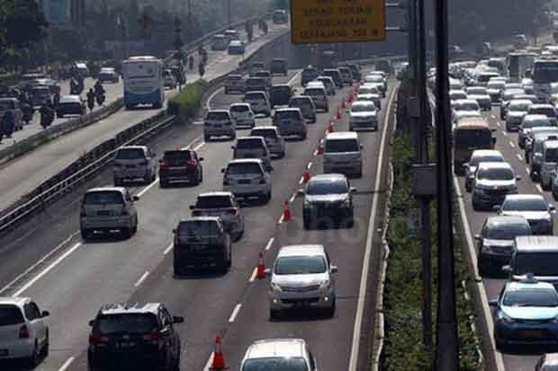Akomodir Pengguna Tol Jagorawi, Contraflow Tol Dalam Kota Dipindah