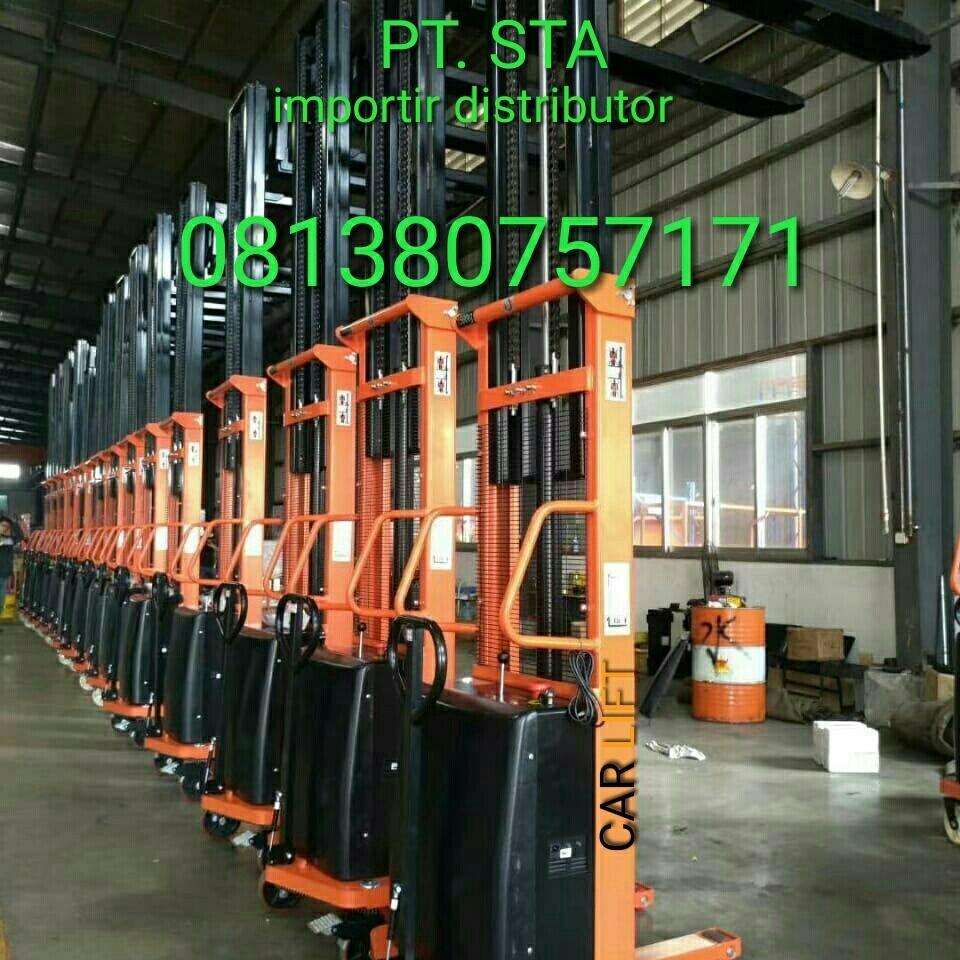 Hand Stacker Elektric 1.5 Ton X 4 Meter