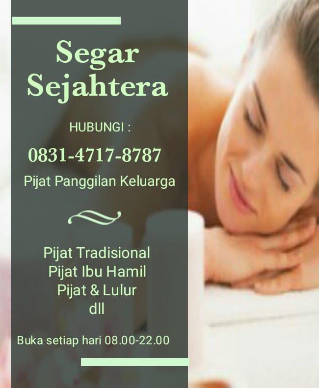 Pijat Panggilan Karawaci Serpong Massage On Call 083147178787