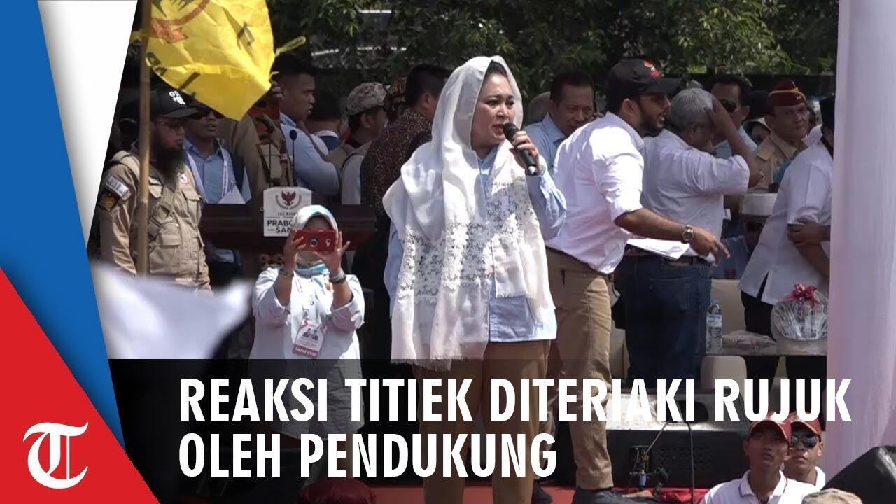 Prabowo ke Kongres PDIP, Titiek: Sejak Koalisi Bubar Saya Tak Pernah Ngobrol