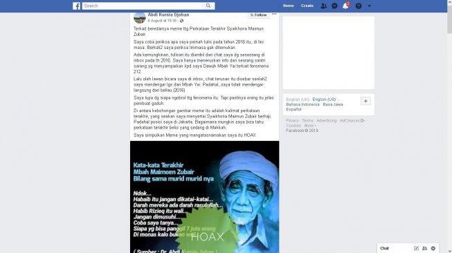 Sempat Sebar Hoaks Mbah Moen, Jejak Digital Hidayat Nur Wahid Viral