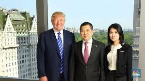 Ke Jakarta Pekan Depan, Trump Jr Garap Proyek Hotel Bareng Hary Tanoe