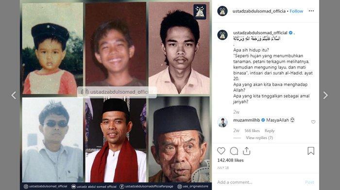Ustadz Somad Ikutan Challenge Face Old, Begini Komentar Muzammil & Ahmad Al Habsyi