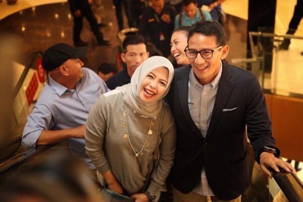 Sandiaga Pusing Istrinya Maju Pilwakot Tangerang Selatan