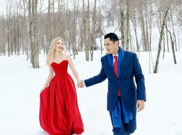 Hamil 7 Bulan, 10 Momen Romantis Varsha Strauss & Panji Trihatmodjo