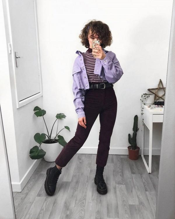 10 Inspirasi Outfit Grunge ala Sophie Seddon, Kekinian Banget!