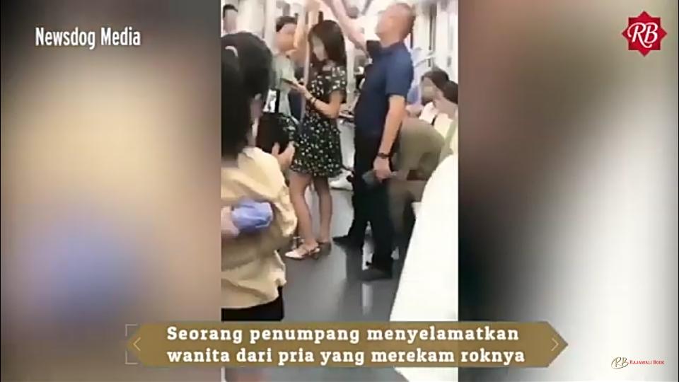 Viral Pahlawan Menyelamatkan Wanita dari Pelecehan Seksual di Kereta, Rok-nya?