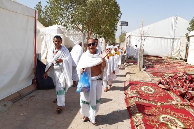 Jamaah Haji Indonesia Siap Jalani Wukuf di Arafah