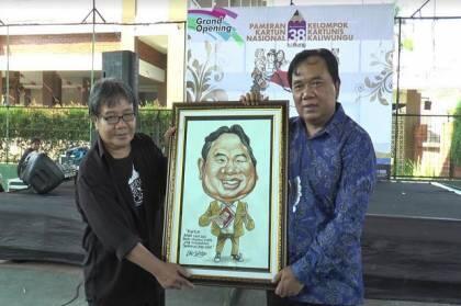 250 Karikatur Dipamerkan Kartunis Kokkang di Kendal