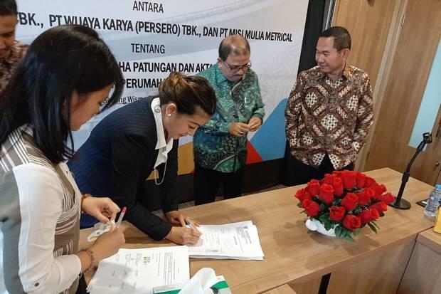 Tiga Pemenang Lelang Proyek Tol Semarang-Demak Lakukan Penandatanganan