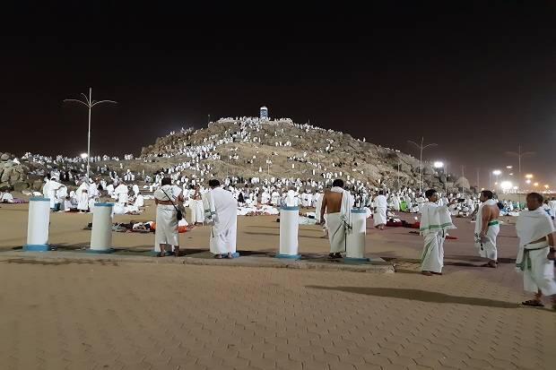 Jabal Rahmah Jadi Buruan Jamaah Sambil Menunggu Wukuf