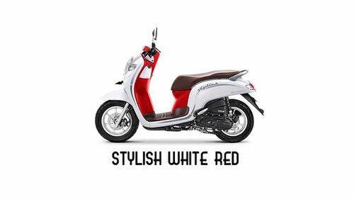 Harga dan Spesifikasi Honda Scoopy Merah Putih