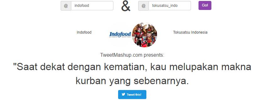 Screenshot Tweetmashup terlucu spesial hari raya qurban