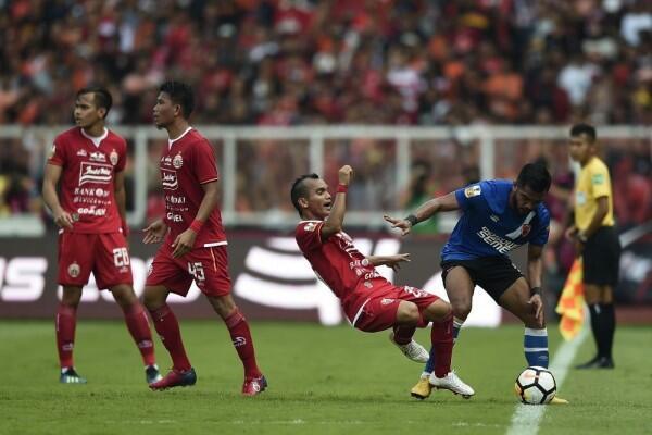 Diimbangi Bhayangkara FC, Persija Masih Betah di Zona Degradasi