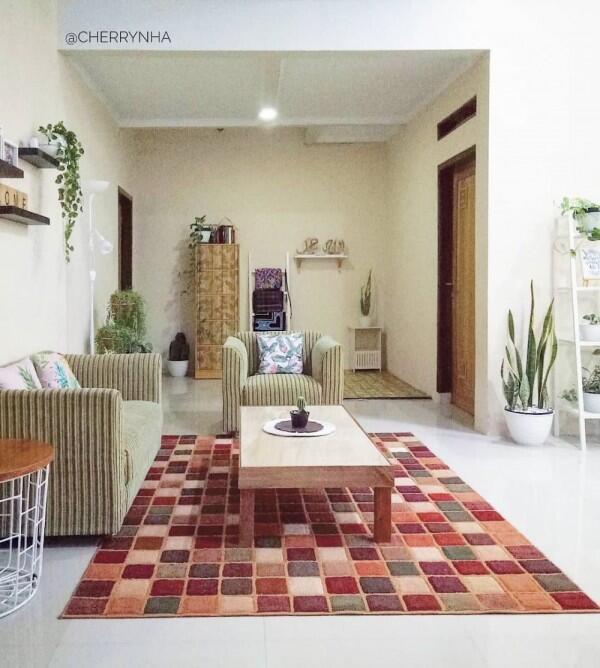 Inspirasi Rumah Bergaya Minimalis dengan LB 90, Lengkap dengan Musala