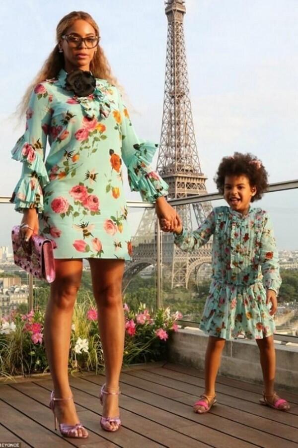10 Style Ibu-Anak ala Beyonce dan Blue Ivy, Modis dalam Berbagai Gaya